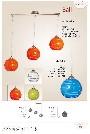 Pendul Ball 1 Portocaliu KL 0791 Klausen